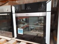 BELLING B160FP EX DISPLAY DEMO BUILT UNDER/IN ELECTERIC FAN OVEN. COLLECTION ONLY.