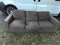 Grey 2 & 3 Seater Sofa - Free Delivery