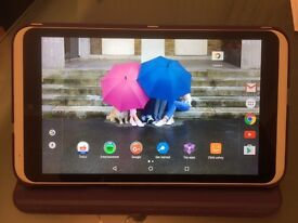 Hudl 2 Tablet 16GB White - As New with case