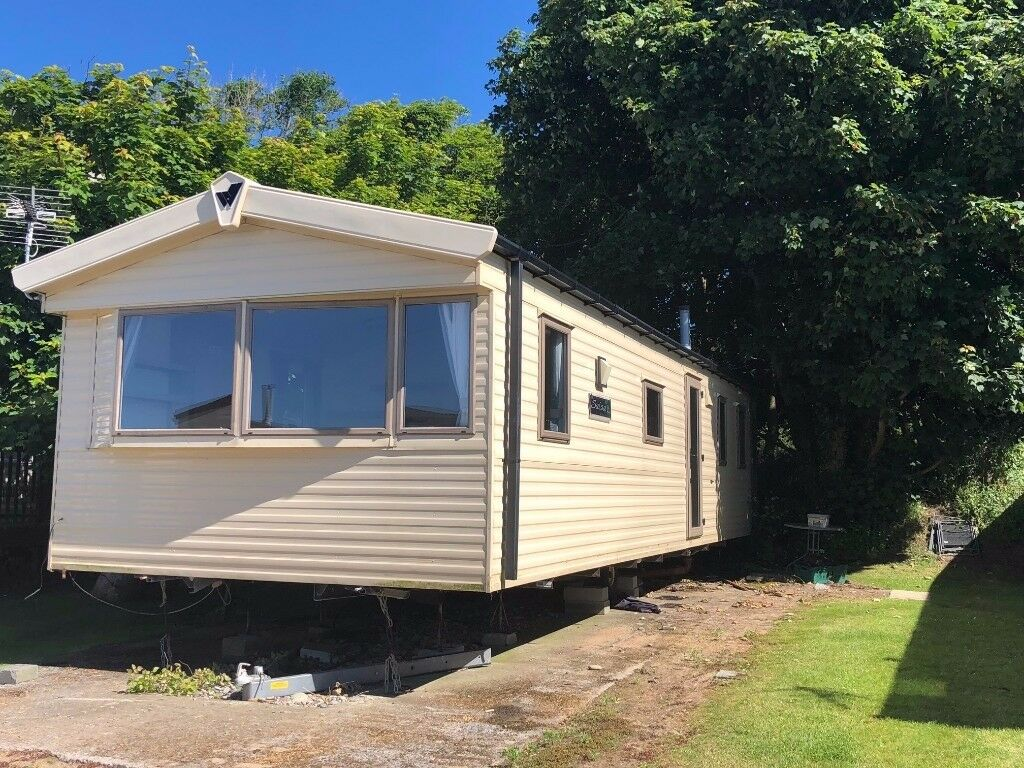 SOLD but others available Cheap 3 bed caravan at Lydstep Near Tenby, Pembrokeshire