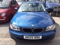 BMW 1 SERIES WITH PARKING AID, 5 DOORS, SERVICE HISTORY AND MOT TILL 2017