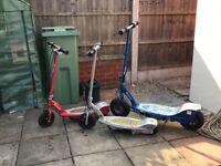 X3 electric scooters