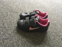 Girls Nike trainers size 9