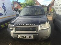Landrover Freelander 2003, full leather interor, electric mirrors, windows etc, facelift model
