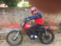 WANTED 1970's Yamaha DT125, ANY CONDITION SPARES OR REPAIR...