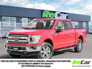 2018 Ford F-150 XLT CREW | 4X4 | 2.7L ECOBOOST | BACK UP CAM