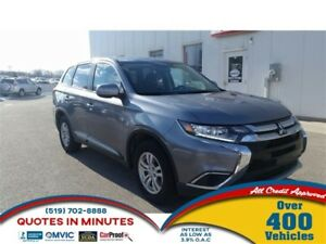 2016 Mitsubishi Outlander ES | AWD | HEATED SEATS | FAMILY READY