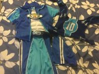 Lazy town dressing outfit. Great for world book day. Age 5-8 Years