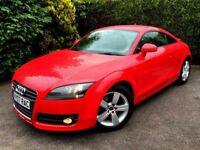**IMMACULATE** 2007 AUDI TT FSI 2.0 PETROL MANUAL RED 200BHP 3 DOOR