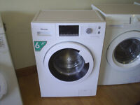 HISENCE SLIM WASHING MACHINE 6 KG / 1200 SPIN FULLY REFURBISHED free local delivery