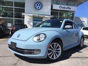 2013 Volkswagen Beetle Coupe HL/SUNROOF/NAV/ALLOYS/HEATED SEATS!
