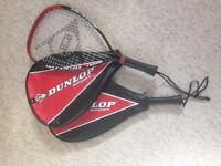 Dunlop sport Racketball rackets x2 with cases