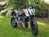 KTM 125 Duke 2015 £2500