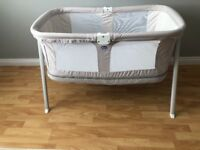Chicco Lullago crib (grey)