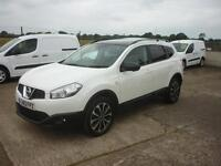 NISSAN QASHQAI+2 1.6 dCi 360 5dr 4WD [Start Stop] (white) 2013