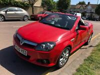 Vauxhall Tigra 2006 Twinport 1.6 LONG MOT. LEATHER PERFECT WORKING ROOF