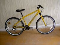 Cannondale bicycle. Made in USA. Original caad 3. Nice condition with rare bouncy seat.