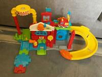 Toot-toot fire station with fire engine & mega blocks