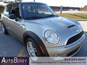 2007 MINI Cooper S  6 Speed *** Certified  & E-Tested *** $7,888