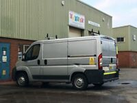 WINDOW CLEANING VAN Peugeot Boxer 2.2 HDI 36000 miles - 900 litre tank all fitted. Long Mot
