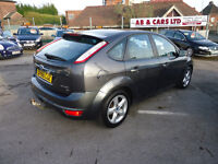58 PLATE FORD FOCUS ZETEC 125 1.8 PETROL GOOD CONDITION CAR 12 M MOT AND 3 M NATIONWIDE WARRANTY