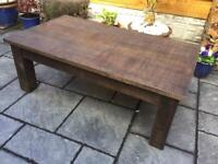 Reclaimed Timber - Rustic Style Coffee Table