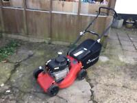 SOVEREIGN LAWN MOWER GOOD CONDITION WITH GRASS BOX