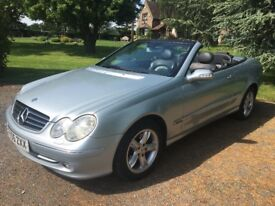 Mercedes CLK200 Convertible Automatic 2005 (1 Owner)