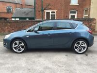 VAUXHALL ASTRA 2014 AUTOMATIC 1.6 PETROL,ONE OWNER