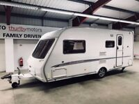 Cheap Touring / Towing Caravan Swift Challenger 2005 with mover motor