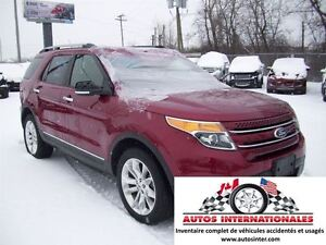 2015 Ford Explorer LIMITED 4X4 V6 3.5 7 PASSAGERS MAG KEYLESS CA