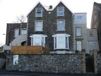 Large 2 double bed maisonette flat with city views, private entrance and a private garden.