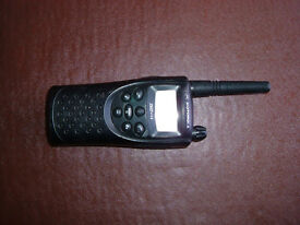 Motorola XTN446 two way radio / walkie talkie plus charger