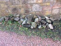 Garden stones - variety of sizes