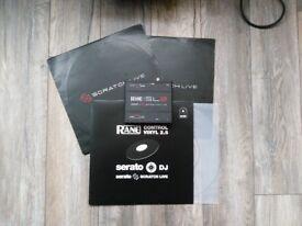 Rane Serato SL2 - DJ audio Interface - includes 3x Control Vinyl