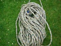 140 ft of rope ideal for boating/sailing/fishing .