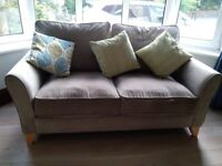 2 seater sofa & 3 armchairs