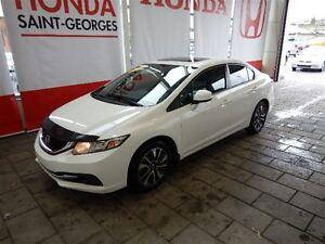 2013 Honda Civic TOIT MAGS BLUETOOTH 2 ANS DE GARANTIE COMPLÈTE