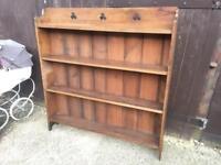 Vintage oak bookcase