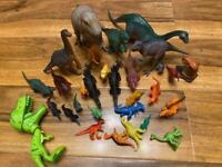 Dinosaur figures