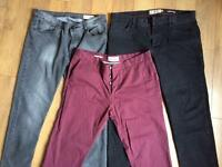 Men's Next 36R trousers and jeans