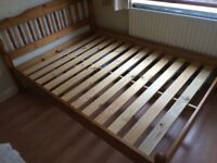 Double bed and single bed for sale