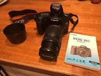 Canon EOS 30D 55 - 250 stabilising imaging lens