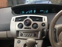 Renault scenic 2.0 automatic car