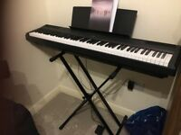Like new New Yamaha P115 portable digital Piano