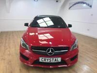MERCEDES-BENZ CLA 2.1 CLA220 CDI AMG SPORT 4d AUTO 170 BHP £30 (red) 2014