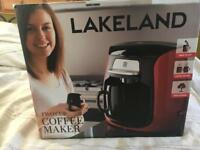 Two cup coffee maker never used.