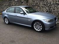 NOV 2009 BMW 3 SERIES 2.0 DIESEL SE 6 SPEED SEMI / AUTO 73000 FULL MOT GENUINE PRISTINE EXAMPLE