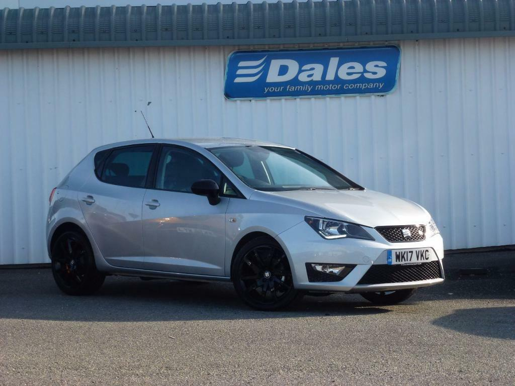 seat ibiza 1 2 tsi 90 fr technology 5dr silver 2017 in newquay cornwall gumtree. Black Bedroom Furniture Sets. Home Design Ideas