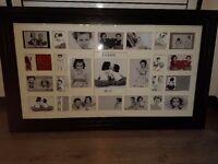 black photo collage frame